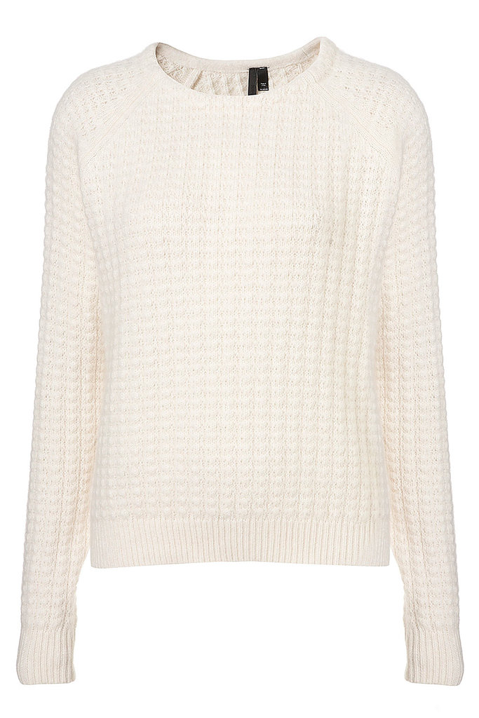 Back-to-school staple: Boutique Angora Stitch Jumper ($130) Why it shouldn't be overlooked: It's a softer-than-soft layering piece, and we have a feeling that once you put it on, you probably won't want to take it off.