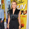 Kristen Bell Wearing Black Jumpsuit