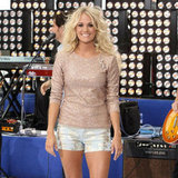 Carrie Underwood Wearing Shorts on Today