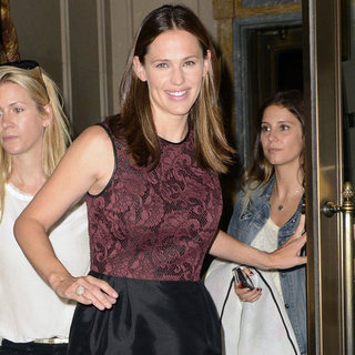 Jennifer Garner Going to Good Morning America in NYC