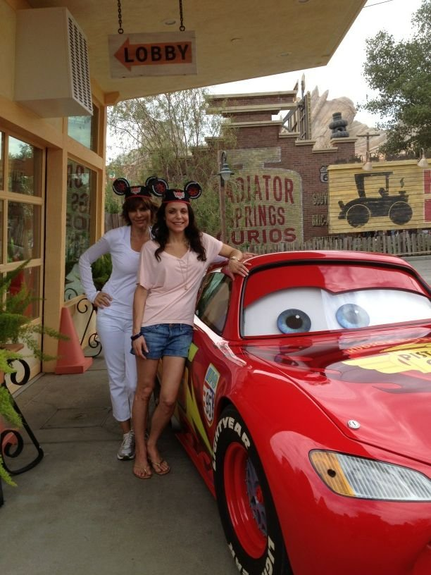 Bethenny Frankel and Lisa Rinna took their families to Disneyland. Source: Twitter user Bethenny