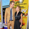 Dax Shepard and Kristen Bell at the Hit and Run Premiere