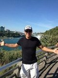 Mario Lopez visited Niagara Falls.  Source: Twitter user MarioLopezExtra