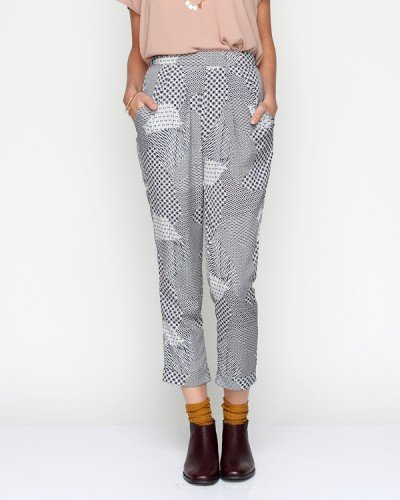 Nothing beats a slick pair of silk trousers. Need Supply Co. Labyrinth Trousers ($48)