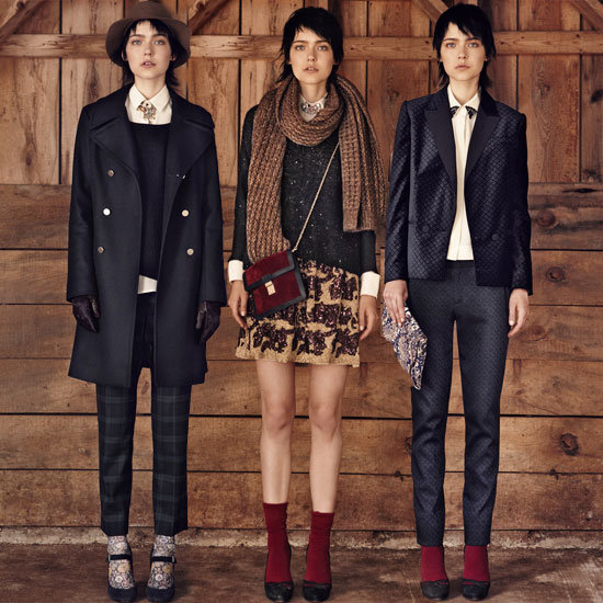In the Mood For Holiday: Club Monaco's Late Fall 2012 Lookbook