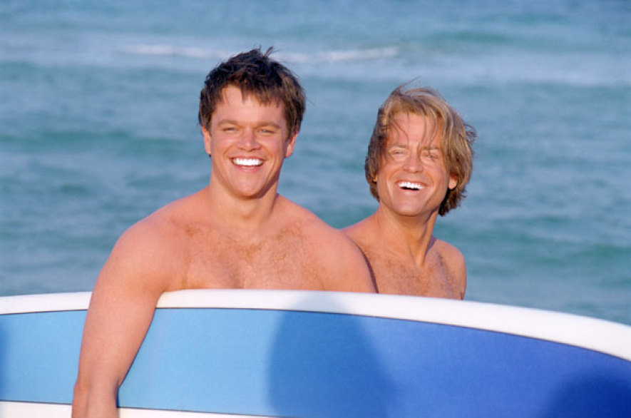Matt Damon and Greg Kinnear, Stuck on You