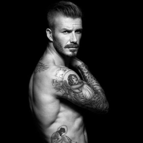 David Beckham in His Underwear For H&M