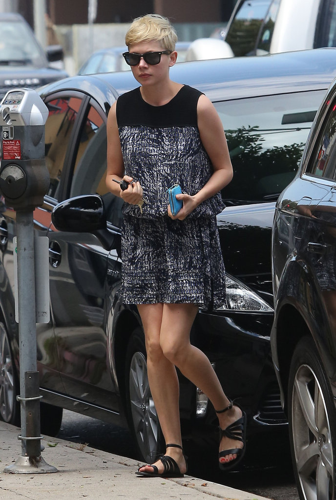 Michelle Williams made a stop at Juice Bar in Beverly Hills.