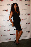 Camila Alves showed off her baby bump.