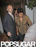 Halle Berry left the Little Door club after her birthday bash.