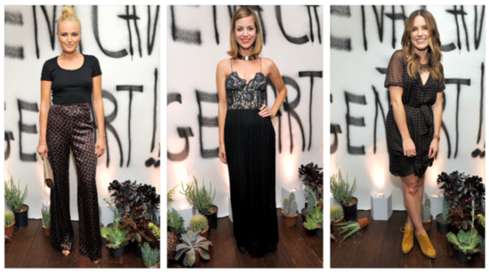 Vena Cava Celebrates With Celebrities, Band Tees, and Bubbly at Chateau Marmont!