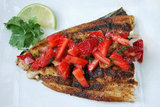 Blackened Mahi Mahi With Strawberry Salsa