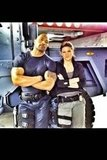 Dwayne Johnson tweeted a picture of himself on the set of Fast Six.  Source: Twitter user TheRock