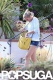 Cameron Diaz ran errands in LA.