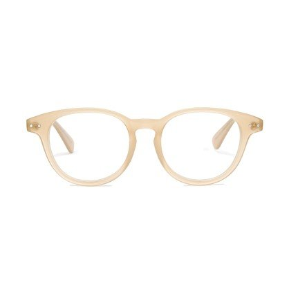 Try these rounded frames in a modern off-white hue — they're the definition of geek chic. Madewell Textbook Glasses ($50)