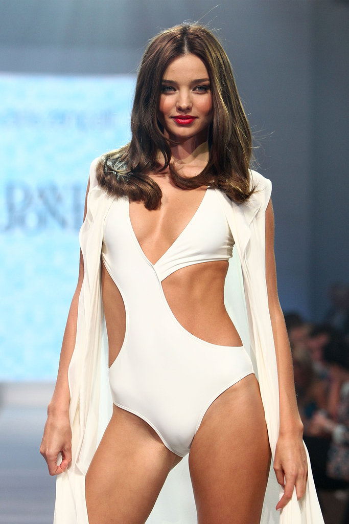 Stunning Miranda Kerr reminded us exactly why she's our country's top modelling export, at the David Jones Spring/Summer 2013 Collection on August 14.