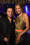 Aurelio Costarella and Jennifer Hawkins