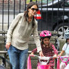 Suri Cruise Riding Bike Pictures