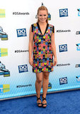 Kristen Bell stepped onto the blue carpet at the Do Something Awards.