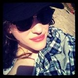 Kat Dennings spent some time in the sun. Source: Instagram user katdenningsss