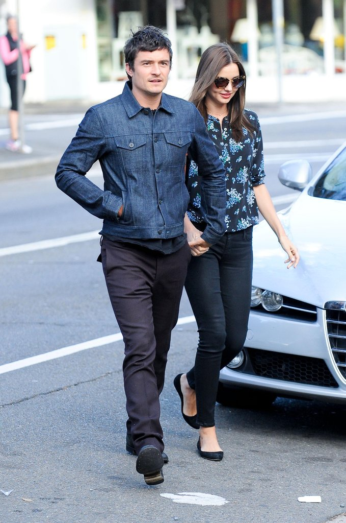 Orlando Bloom and Miranda Kerr Show Love in Sydney