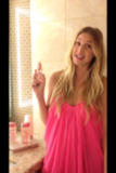 Whitney Port sprayed on some perfume.  Source: Twitter user whitneyEVEport