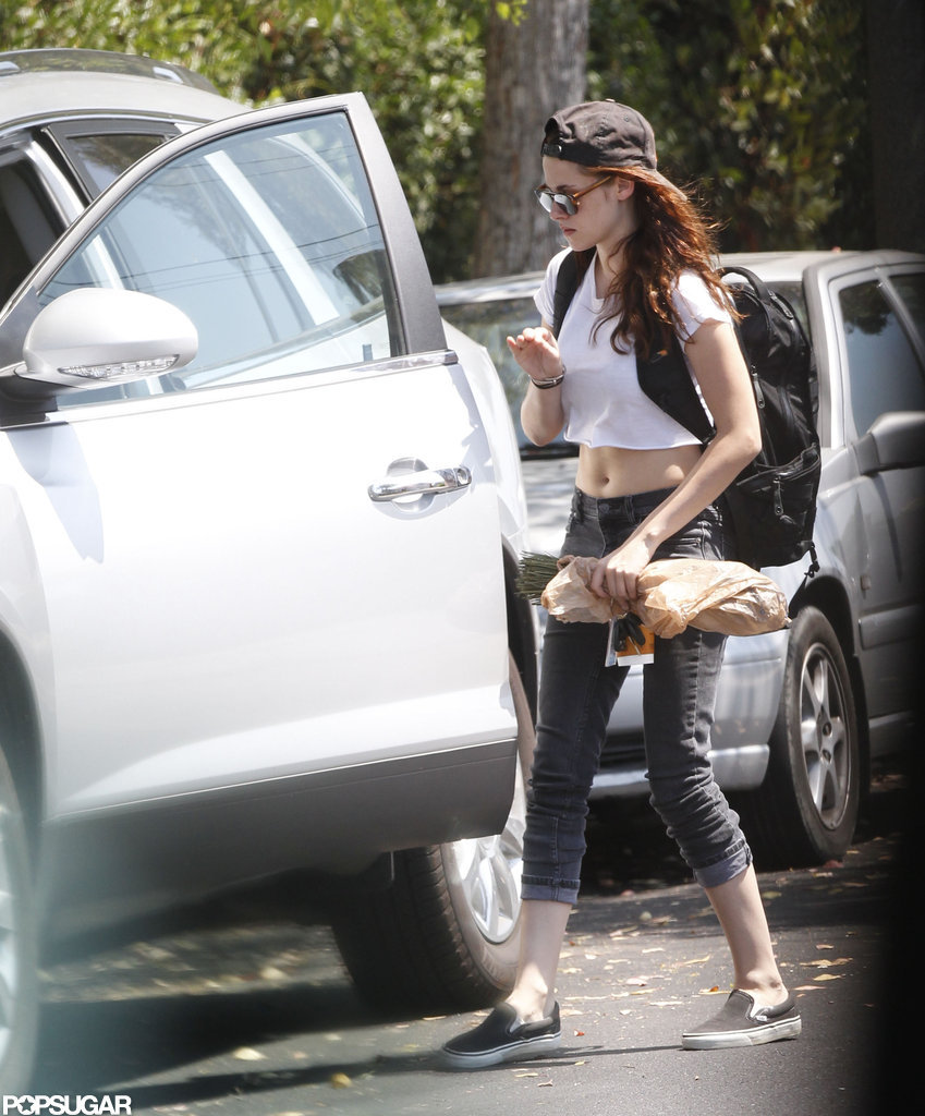 Kristen Stewart was spotted in LA after cheating scandal.