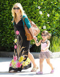 Sarah Michelle Gellar and Charlotte Prinze held hands in Studio City.