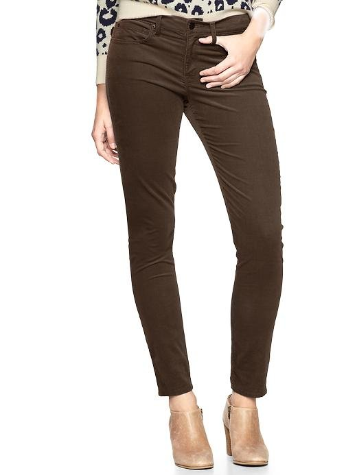 Swap out your staple denim for this chestnut-brown pair of stretchy, curve-hugging cord leggings.  Gap 1969 Legging Cords ($60)