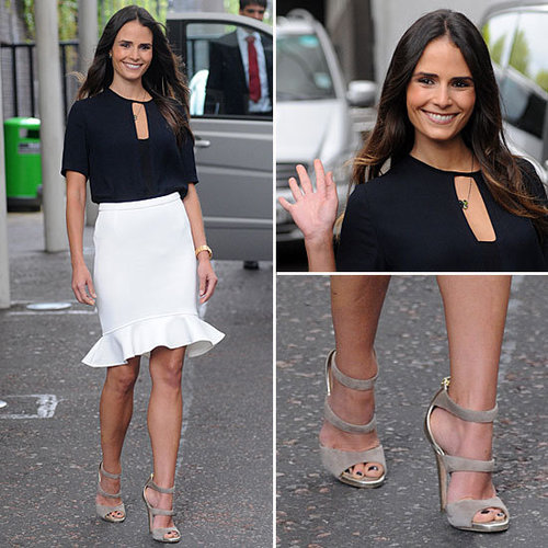 One Chic Skirt Makes Us Fall (Even Harder) For Jordana Brewster