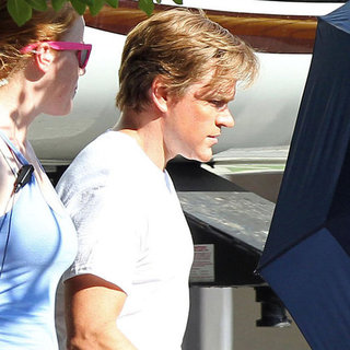 Matt Damon Liberace Movie Behind the Candelabra Pictures