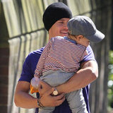 Orlando Bloom Totes Flynn on a Sweet Walk Through Sydney