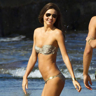 Miranda Kerr Bikini Pictures at Beach Shoot
