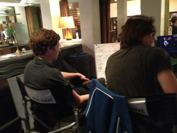 Ron Howard tweeted this picture of Michael Cera on the set of Arrested Development. Source: Twitter user @RealRonHoward