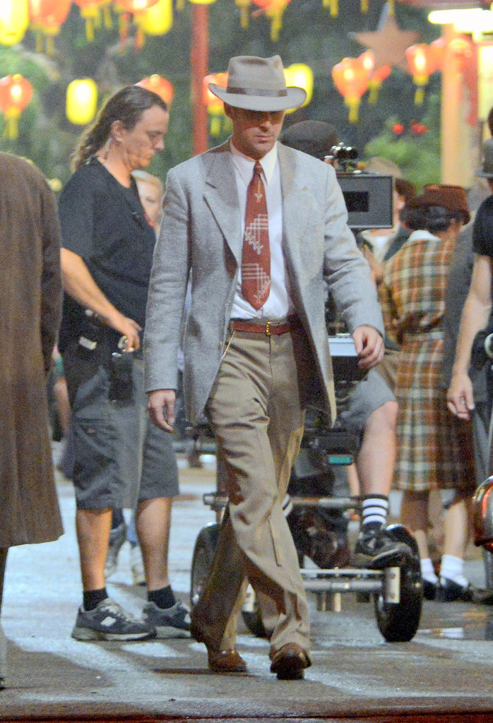 Ryan Gosling Returns For Late-Night Gangster Squad Reshoots