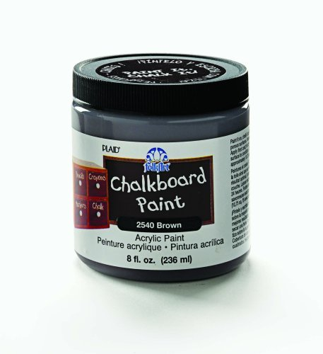FolkArt Chalkboard Paint 8 Ounces ($9)