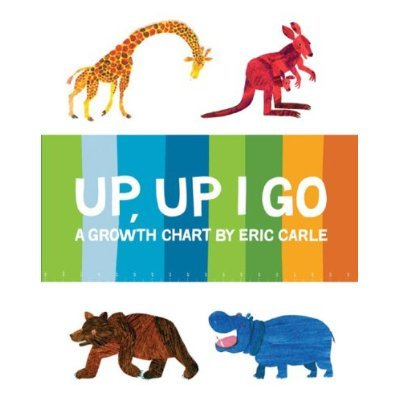 Up, Up I Go: A Growth Chart ($13)
