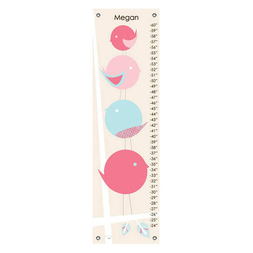 Birdie Family Personalized Growth Chart ($49)