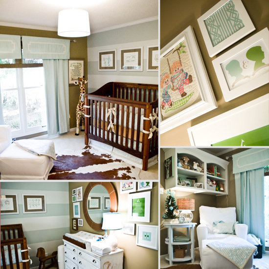 Baby Rhett's Sophisticated Custom Nursery