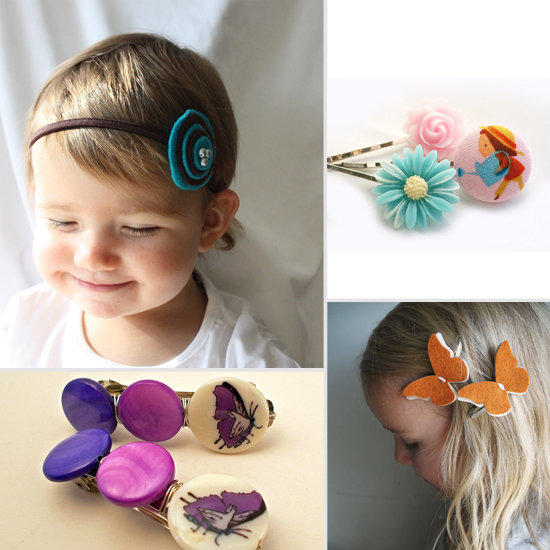 Darling Hair Accessories to Adorn Lil Girls
