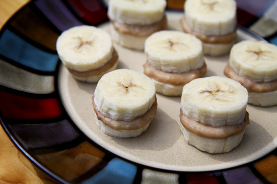 Peanut butter and banana is an unbeatable combination. For a frozen snack as an alternative to ice cream, make these bite-sized frozen nutty banana nibblers.