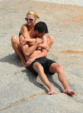 Paris Hilton shared an exciting afternoon in August on Cavallo Island off the coast of Italy with a mystery man.