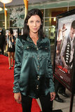 Liberty Ross posed for a picture on the red carpet.
