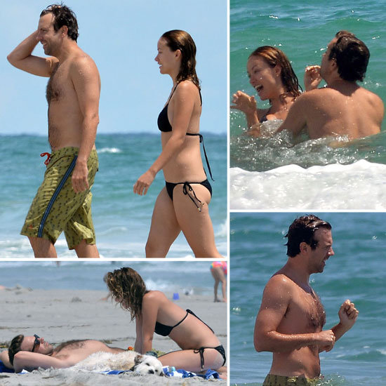 Bikini-Clad Olivia Wilde Shows Love With Shirtless Jason Sudeikis