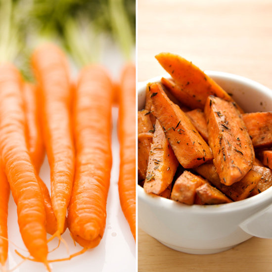 Carrots and Orange Skin