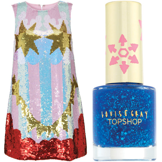 Louise Gray for Topshop Is Finally Here! Shop Fashion and Makeup Ranges