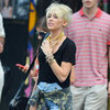 Miley Cyrus New Haircut Pictures in NYC