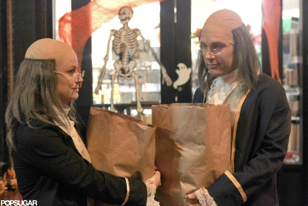 Paul Rudd and Amy Poehler Reveal Their Halloween Costumes