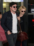 Carey Mulligan was with husband Marcus Mumford.
