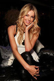 Jennifer Hawkins backstage